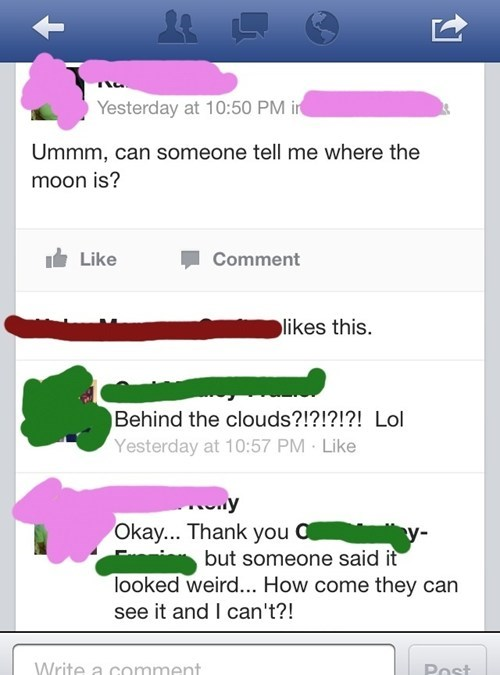 clouds moon the sky geography funny space - 7456425728