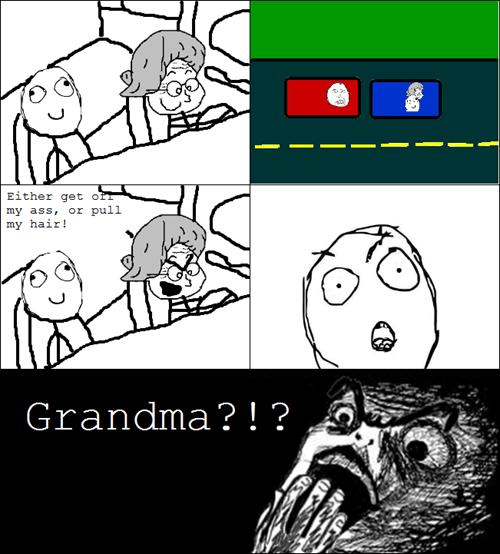 grandma driving funny - 7456697856