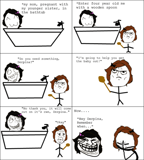 Babies troll mom derpina bathtub pregnant mom funny - 7456710144