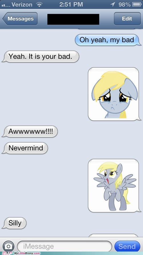 derpy hooves texts funny - 7456888064