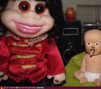 wtf creepy dolls funny - 7457508352