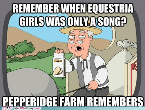equestria girls Memes funny pepperidge farm - 7457787648