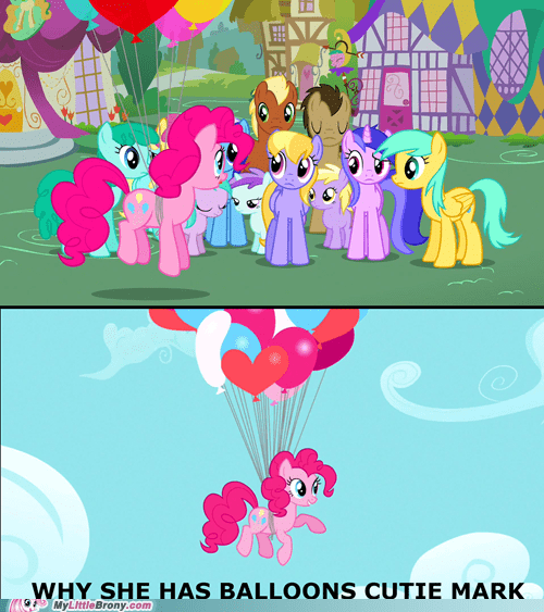 Balloons pinkie pie funny - 7458026240