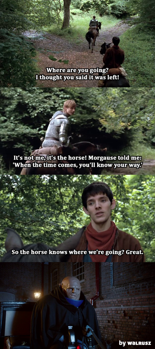 merlin doctor who bbc horses funny - 7458953216