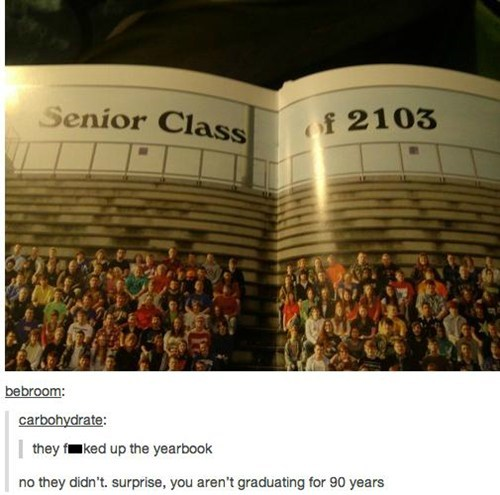 school graduation yearbook class of 2103 funny - 7459578880