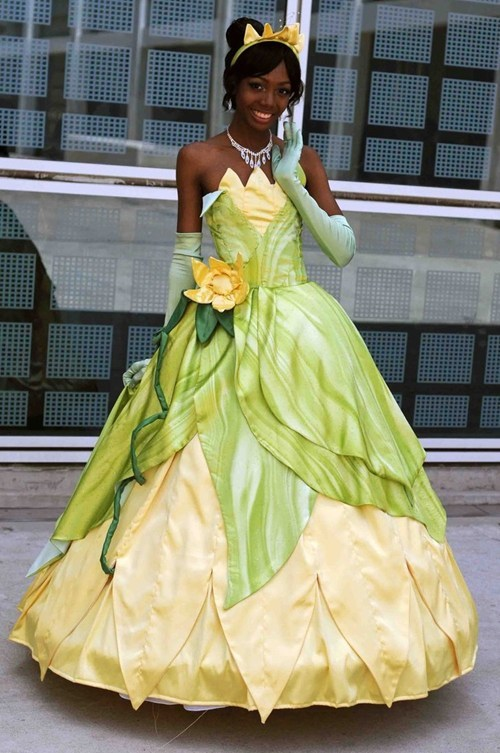 disney cosplay princess and the frog - 7459587328