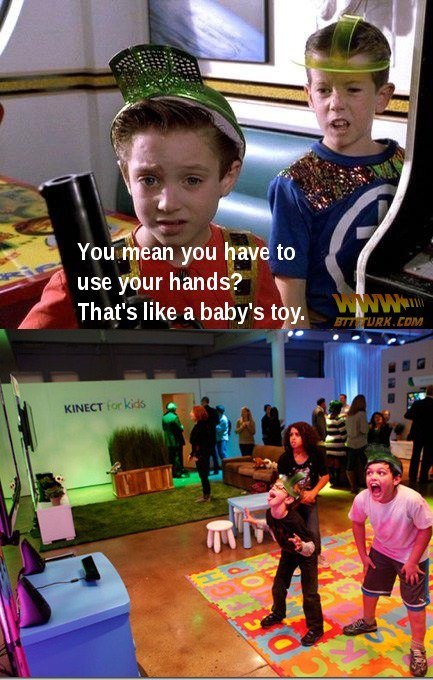 kids kinect video games funny back to the future 2 - 7459629312