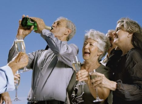 booze Party old people funny - 7459640576