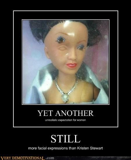 kristen stewart,expressions,doll