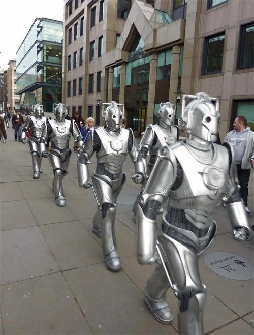 cybermen doctor who - 7459795712