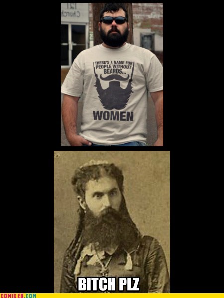 beards ladies gender norms funny - 7459812608