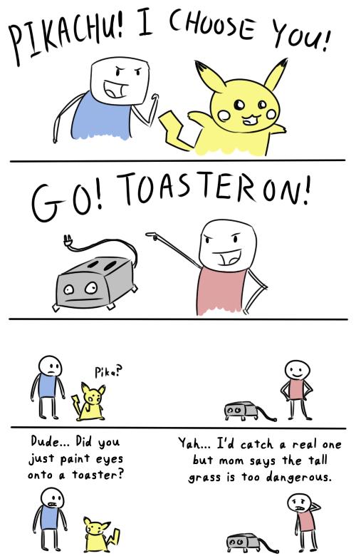 Pokémon toasteron comics funny - 7459909888