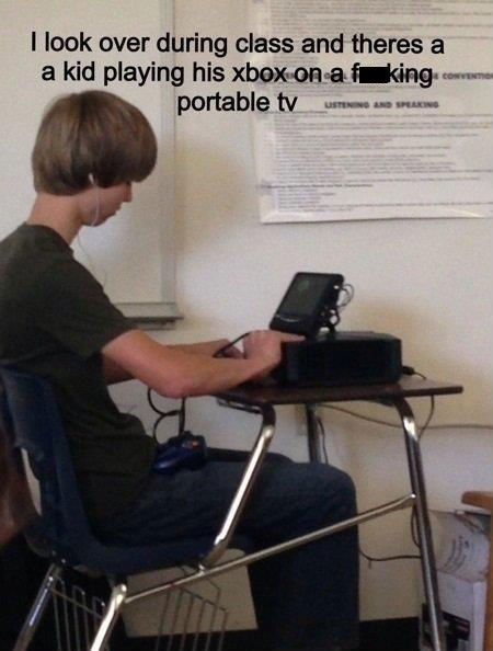 class,kid,genius,xbox 360,funny,School of FAIL