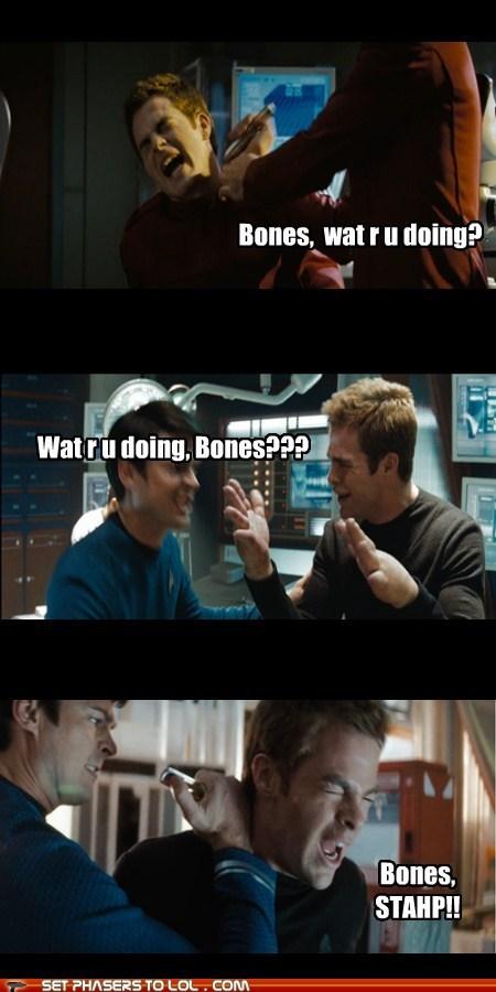 bones Star Trek funny - 7460075264