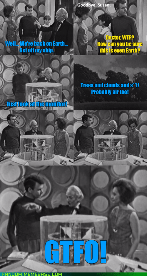 The First Doctor Doesn't Cry Over Lost Companions