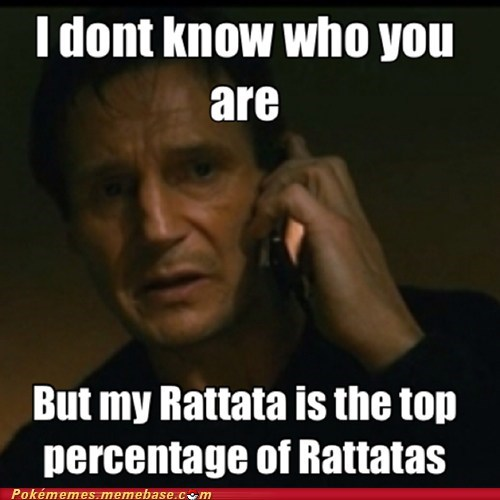 taken Pokémon top percentage rattata Memes funny - 7461075968