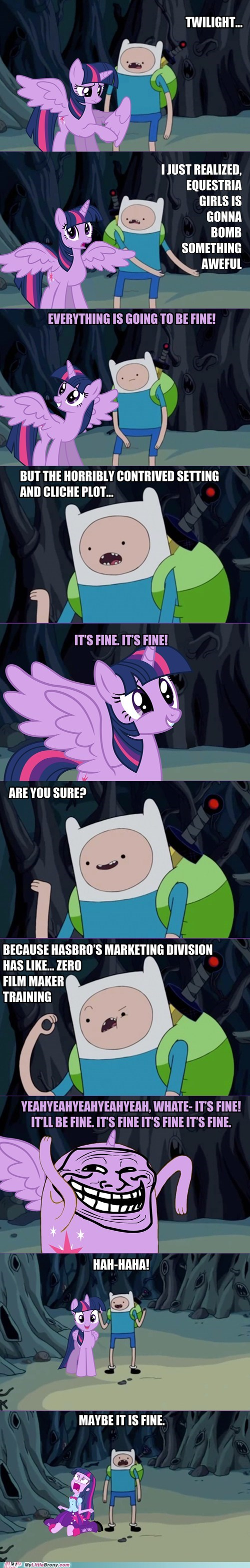 twilight sparkle comics funny adventure time - 7461235456