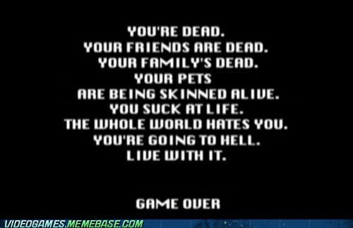 Sad wtf gaming game over - 7461456640