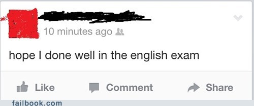 english exam,class,grammar nazi,school,grammar,bad grammar,spelling,funny