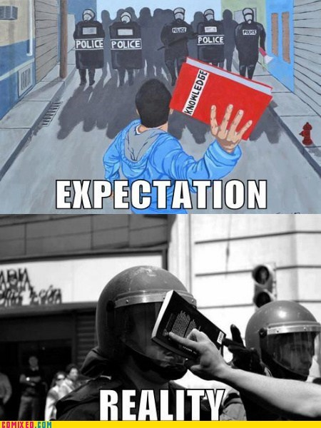 expectations vs reality,sad but true,books,knowledge,funny
