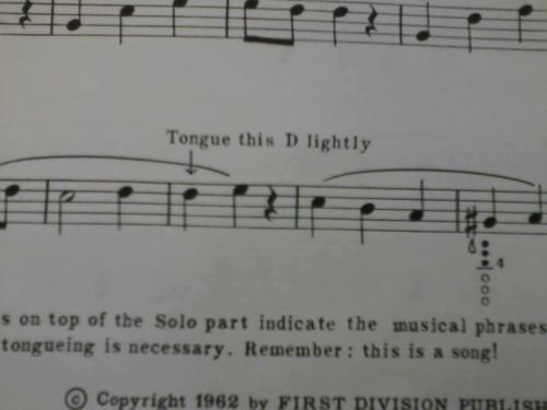 Music I see what you did there THE D sheet music funny