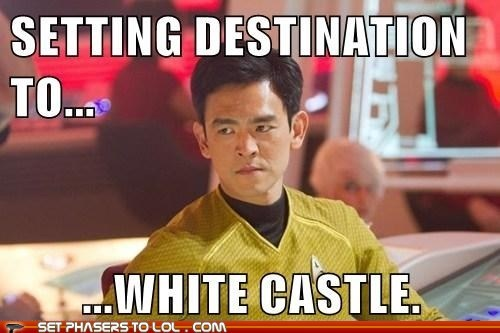 White Castle Star Trek funny - 7462479360