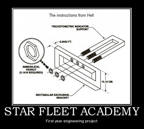 star fleet academy science officer Star Trek funny - 7462676224