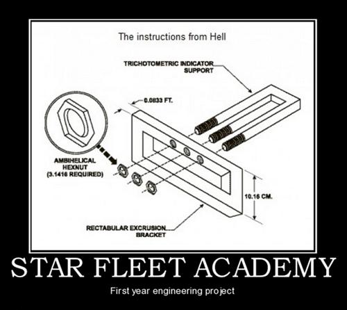 star fleet academy science officer Star Trek funny - 7462676224
