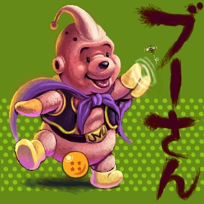 crossover Dragon Ball Z cartoons winnie the pooh - 7462840832