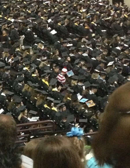 school,graduation,wheres waldo,funny.