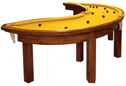 pool table banana design funny