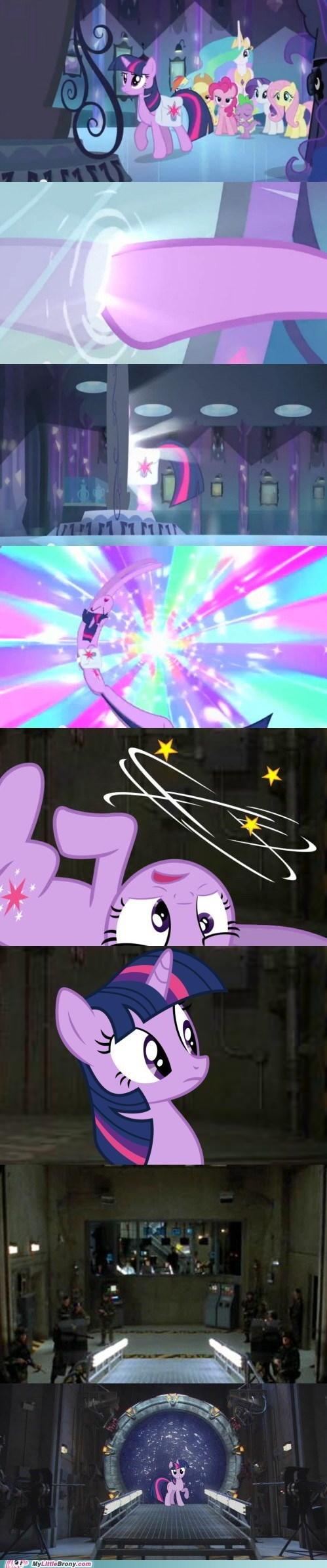 portals twilight sparkle comics Stargate funny - 7463805440