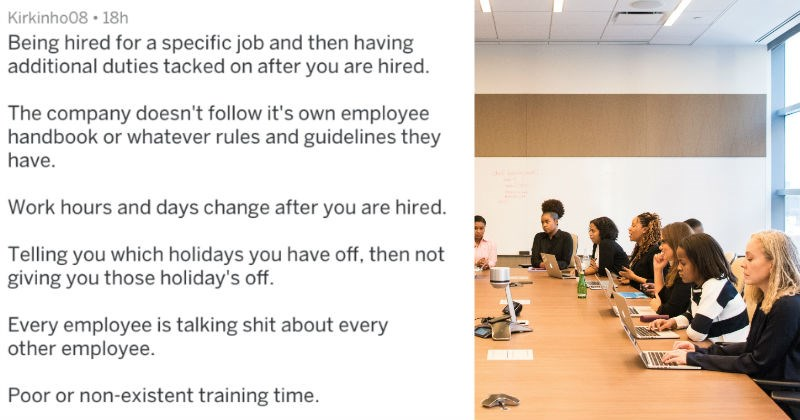red flags signs you should leave a job