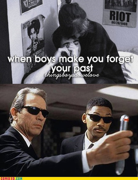 memories men in black things boys do funny