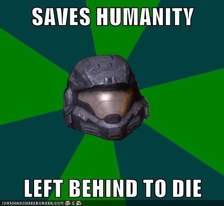 SAVES HUMANITY  LEFT BEHIND TO DIE