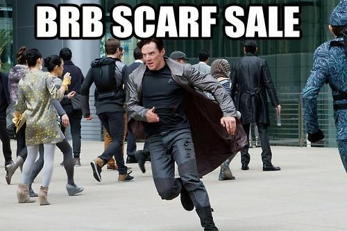 benedict cumberbatch sale scarves