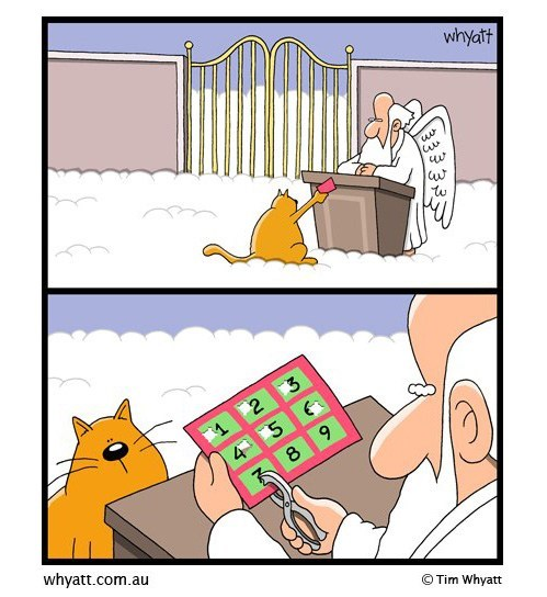 heaven punch card comic funny