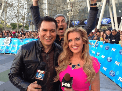 photobomb Local News Taylor Hicks funny American Idol - 7466078464