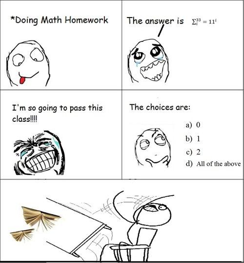 homework school math funny truancy story - 7466081024