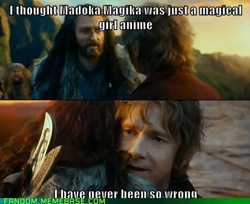 Sudden Change of Heart Thorin,Puella Magi Madoka Magica,anime