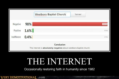 internet,westboro,restoring faith in humanity week