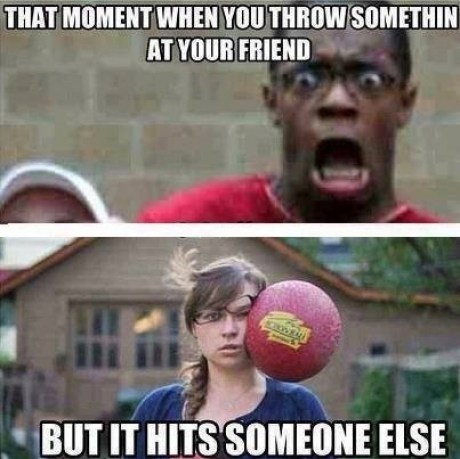 dodgeball accidents funny - 7466363648