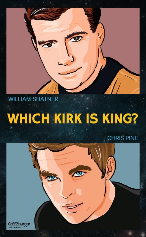 poll Captain Kirk scifi Star Trek