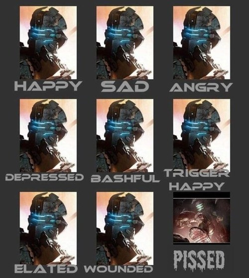 expressions dead space funny isaac clarke - 7466423040