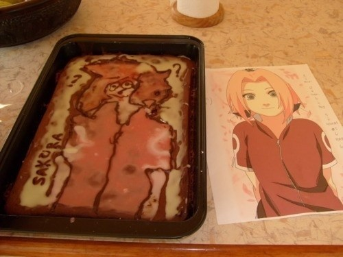 cake anime Sakura Nailed It - 7466423296