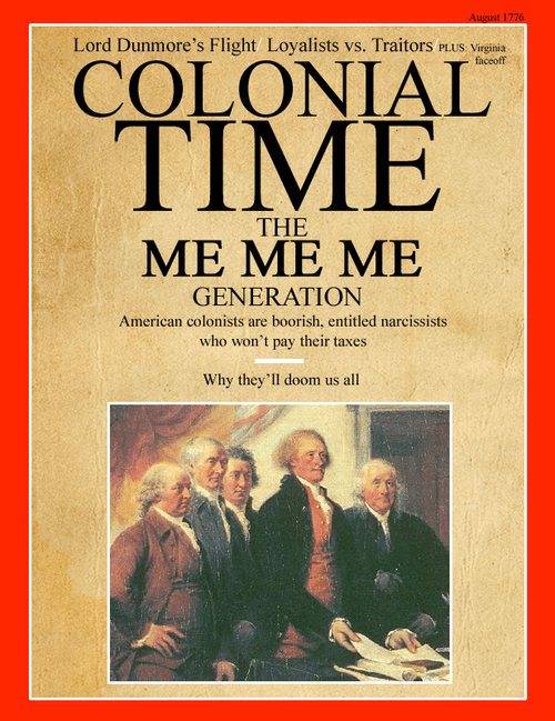 time magazine colonists history funny - 7466628608