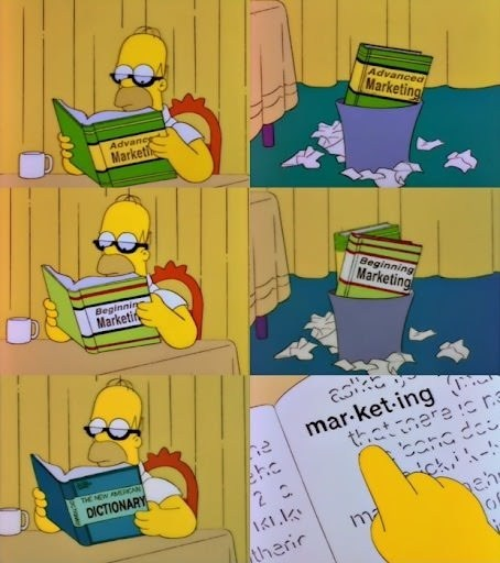 homer simpson marketing the simpsons funny - 7466629120
