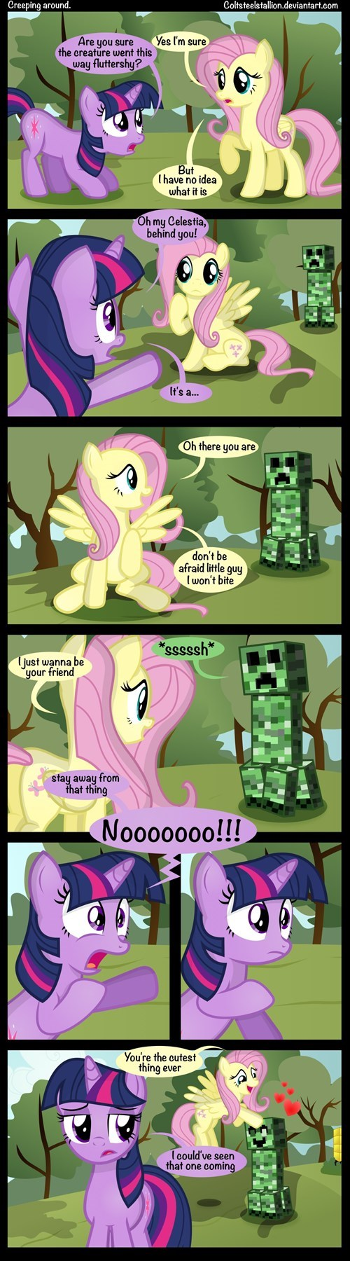 nature comics fluttershy funny - 7466666496