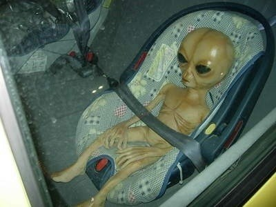 Babies Aliens wtf car seats funny - 7466892544