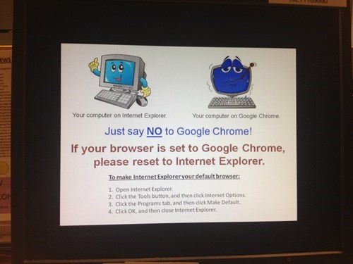 web browsers google chrome ie9 internet explorer funny